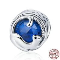 Thailand European Perlen, mit Kristall, flache Runde, ohne troll & facettierte & hohl, 12x12mm, Bohrung:ca. 4.5-5mm, verkauft von PC