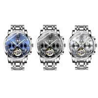 DOM® Uhrenkollektion, Edelstahl, mit Glas, plattiert, für den Menschen & glänzend, keine, 41x12.5mm, Länge:ca. 8 ZollInch, verkauft von PC