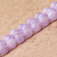 Natürliche Amethyst Perlen, rund, verschiedene Größen vorhanden, violett, verkauft per ca. 15.7 ZollInch Strang