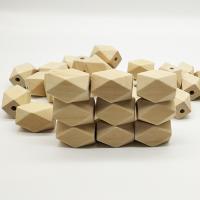 Holzperlen, Holz, DIY, originale Farbe, 22x15mm, Bohrung:ca. 1mm, 50PCs/Tasche, verkauft von Tasche