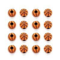 Volltonfarbe Acryl Perlen, rund, 11mm, Bohrung:ca. 4mm, 50PCs/Tasche, verkauft von Tasche