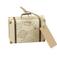 Papier Hochzeit-Candy-Box, 80x50x25mm, 100PCs/Menge, verkauft von Menge
