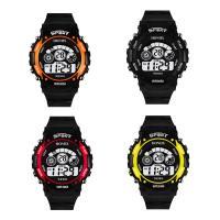 honhx® Uhrenkollektion, TPU Kunststoff, mit Glas & Harz & Edelstahl, einstellbar & LED & für den Menschen & glänzend, keine, 45x17mm, Länge:ca. 9 ZollInch, verkauft von PC