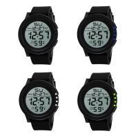 honhx® Uhrenkollektion, TPU Kunststoff, mit Glas & Harz & Edelstahl, unisex & einstellbar & LED & glänzend, keine, 50x17mm, Länge:ca. 11 ZollInch, verkauft von PC