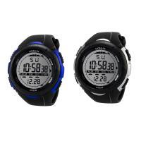 honhx® Uhrenkollektion, TPU Kunststoff, mit Glas & Harz & Edelstahl, unisex & einstellbar & LED & glänzend, keine, 50x37mm, Länge:ca. 9 ZollInch, verkauft von PC