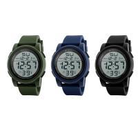 honhx® Uhrenkollektion, TPU Kunststoff, mit Glas & Harz & Edelstahl, unisex & einstellbar & LED & glänzend, keine, 50x17mm, Länge:ca. 10 ZollInch, verkauft von PC
