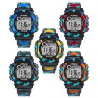 honhx® Uhrenkollektion, TPU Kunststoff, mit Glas & Harz & Edelstahl, unisex & für Kinder & einstellbar & LED & glänzend, keine, 43x18mm, Länge:ca. 10 ZollInch, verkauft von PC