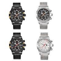 Benyar® Uhrenkollektion, Edelstahl, mit Glas & Zinklegierung, plattiert, für den Menschen, keine, 49x15mm, Länge:ca. 9 ZollInch, verkauft von PC
