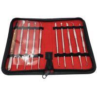 Legierter Stahl Schnitzender Messer-Satz, 200mm, 10PCs/setzen, verkauft von setzen