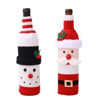 Stoff Weihnachten Wein Bag, Weihnachtsschmuck & verschiedene Stile für Wahl, 110x500mm, verkauft von PC