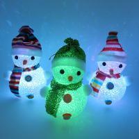 Nachtlampe, EVA Poron, Schneemann, Weihnachtsschmuck, 160mm, 3PCs/Menge, verkauft von Menge