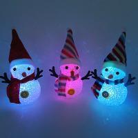 Nachtlampe, EVA Poron, Schneemann, Weihnachtsschmuck, 50x155mm, 3PCs/Menge, verkauft von Menge