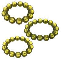 Bernstein Armband, flache Runde, verschiedene Größen vorhanden & für Frau, originale Farbe, verkauft per ca. 8 ZollInch Strang
