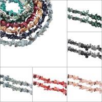 Natürliche Süßwasser Muschel Perlen, Klumpen, keine, 14x7mm, Bohrung:ca. 1mm, verkauft per ca. 14.5 ZollInch Strang