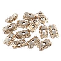 Zink Legierung Perlen Schmuck, Zinklegierung, vergoldet, frei von Blei & Kadmium, 11x4x7mm, Bohrung:ca. 1mm, 20PCs/Tasche, verkauft von Tasche