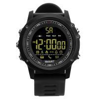 RISTOS® Uhrenkollektion, Silikon, mit Glas & Edelstahl, schwärzen, Multifunktions & unisex & einstellbar & LED & glänzend, keine, 15.2mm, Länge:ca. 11 ZollInch, verkauft von PC