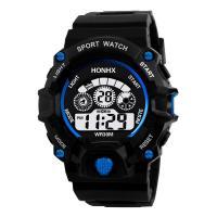 honhx® Uhrenkollektion, Harz, mit organisches Glas & Edelstahl, flache Runde, für den Menschen & glänzend, keine, 55mm, Länge:ca. 6.6-9 ZollInch, verkauft von PC