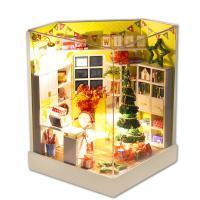 Weihnachtsangebot, Kunststoff, mit Stoff & Holz, DIY & Weihnachtsschmuck & LED, 130x170x130mm, verkauft von PC