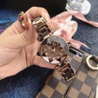 DIMINI® Uhrenkollektion, Edelstahl, mit Glas, flache Runde, plattiert, Sternendesign & für Frau, keine, 38x12mm, Länge:ca. 8.6 ZollInch, verkauft von PC