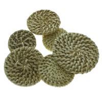 Rohrstock Kostüm Zubehör, flache Runde, verschiedene Größen vorhanden & gewebte Muster, 50PCs/Tasche, verkauft von Tasche