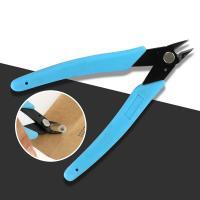 Ferronickel Seitenschneider, mit ABS Kunststoff, blau, 125mm, verkauft von PC