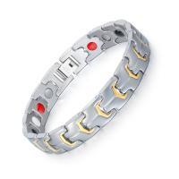 Titanstahl Armband, plattiert, für den Menschen, 12mm, verkauft per ca. 8.5 ZollInch Strang