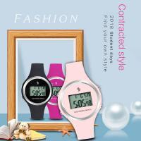 SENORS® Damen Schmuckuhr, Silikon, mit Glas, glänzend, keine, 35mm, Länge:ca. 8.6 ZollInch, verkauft von PC