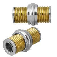 Edelstahl Magnetverschluss, plattiert, 22x14x14mm, Innendurchmesser:ca. 5mm, 10PCs/Menge, verkauft von Menge