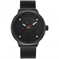 WWOOR® Collection Uhr, Glas, mit Edelstahl & Zinklegierung, plattiert, für den Menschen, keine, 48x13mm, Länge:ca. 9.4 ZollInch, verkauft von PC