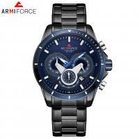 ARMIFORCE® Uhrenkollektion, Glas, mit Edelstahl & Zinklegierung, plattiert, für den Menschen, keine, 45x13mm, Länge:ca. 9.6 ZollInch, verkauft von PC