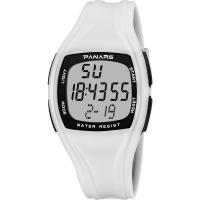 PANARS® Uhrenkollektion, Kunststoff, mit Glas & Edelstahl, plattiert, abnehmbare & Multifunktions & LED & für den Menschen & wasserdicht & glänzend, keine, 41x16.5mm, 25mm, Länge:ca. 9.96 ZollInch, verkauft von PC