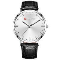 PANARS® Uhrenkollektion, PU Leder, mit Quarz & Edelstahl, plattiert, einstellbar & für den Menschen, keine, 40.8x8.1mm, 19.2mm, Länge:ca. 9.7 ZollInch, verkauft von PC