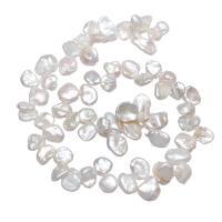 Barock kultivierten Süßwassersee Perlen, Natürliche kultivierte Süßwasserperlen, Klumpen, natürlich, 9-16mm, Bohrung:ca. 0.8mm, verkauft per ca. 15 ZollInch Strang