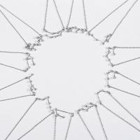 Zirkonia-Mikro pflastern Sterlingsilber -Armband, 925er Sterling Silber, mit Verlängerungskettchen von 1.4lnch, platiniert, Oval-Kette & Micro pave Zirkonia & für Frau, 20x10mm, verkauft per ca. 6.3 ZollInch Strang