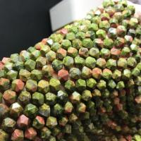 Grüner Aventurin Perle, verschiedene Größen vorhanden, verkauft per ca. 15 ZollInch Strang