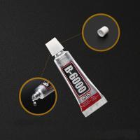 Super-Klebstoff, Gummi, transparent & wasserdicht, 17x52mm, 10PCs/Tasche, verkauft von Tasche