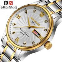 Kingnuos® Schmuckuhr, Glas, mit Edelstahl & Zinklegierung, plattiert, für den Menschen, keine, 39mm, Länge:ca. 9 ZollInch, verkauft von PC