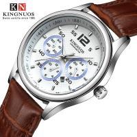 Kingnuos® Schmuckuhr, Zinklegierung, mit PO Leder & Glas, plattiert, für den Menschen, keine, 39mm, Länge:ca. 9 ZollInch, verkauft von PC