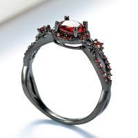 Messing Fingerring, verschiedene Größen vorhanden & für Frau & mit Strass, keine, verkauft von PC