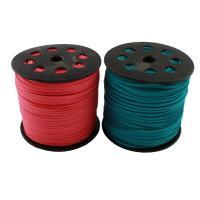 Wollschnur, mit Kunststoff, gemischte Farben, 3x1.5mm, 2Spulen/Tasche, verkauft von Tasche