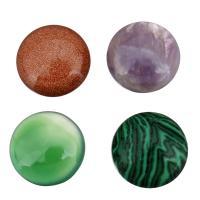 Edelstein Cabochons, flache Runde, verschiedenen Materialien für die Wahl, 16x16x6mm, verkauft von PC