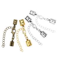 Messing Karabinerverschluss, plattiert, mit Perle Kuppe & verschiedene Größen vorhanden, keine, frei von Nickel, Blei & Kadmium, 19x32x2mm,25x35x3mm, 20PCs/Tasche, verkauft von Tasche