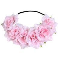Stirnband, Polyester, für Frau, gemischte Farben, 100mm, 10PCs/Menge, verkauft von Menge