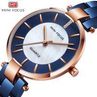 MINIFOCUS® Uhrenkollektion, Zinklegierung, mit Glas & Edelstahl, plattiert, für Frau & mit Strass, keine, 34mm, Länge:ca. 7.9 ZollInch, verkauft von PC