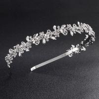 Braut Haarband, Zinklegierung, versilbert, Hochzeitsgeschenk & für Frau, frei von Blei & Kadmium, 120x20mm, verkauft von PC