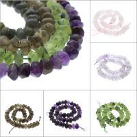 Mischedelstein Perlen, Edelstein, verschiedenen Materialien für die Wahl & facettierte, 13x8mm, Bohrung:ca. 1mm, verkauft per ca. 16.1 ZollInch Strang