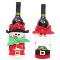 Stoff Weihnachten Wein Bag, Weihnachtsschmuck & verschiedene Stile für Wahl, verkauft von PC