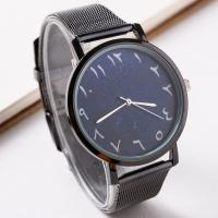 Unisexe Armbanduhr, Zinklegierung, mit Glas, plattiert, keine, frei von Nickel, Blei & Kadmium, 40mm, Länge:ca. 9.5 ZollInch, 2PCs/Menge, verkauft von Menge