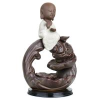 Porcelain Backflow Incense Burner, Porzellan, verschiedene Stile für Wahl, 140x210x110mm, verkauft von PC