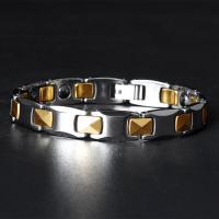 Wolfram Stahl Armband, plattiert, für den Menschen, keine, 10mm, verkauft per ca. 8 ZollInch Strang